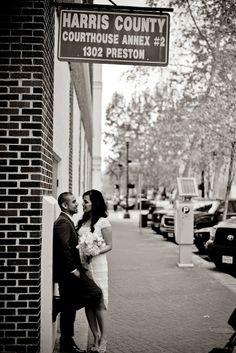 Courthouse wedding. Houston Courthouse Wedding