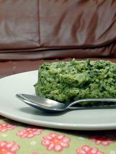 Spinach risoto
