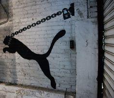 Rene Gagnon | PUMA street art