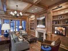 Classic Comfort : Audio Video Interiors : Living Spaces : Pro Galleries : HGTV Remodels