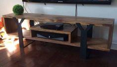 Meuble tv en bois et métal. Neuf pret a partir. | meubles de télé, unités de…