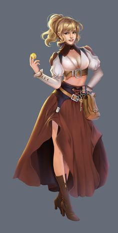 f npc Rogue Arcane Trickster Innkeeper Tavern female urban Town Story key lg Female Character Concept, Fantasy Character Design, Character Design Inspiration, Character Art, Girls Characters, Dnd Characters, Fantasy Characters, Female Characters, Fantasy Girl