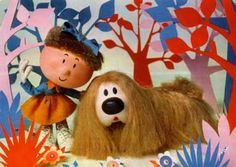 Florence & Dougal from the Magic Roundabout 1970s Childhood, My Childhood Memories, Sweet Memories, Childhood Images, Vintage Tv, Vintage Images, Kiri Le Clown, Magic Roundabout, Vintage Television