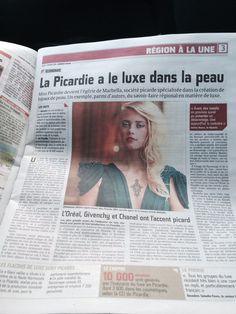 ✍ Published in the French magazine with the new Marbella star Adeline Legris Croisel Miss Picardie Miss Picardie, French Magazine, Event Ticket, Paris, Star, Montmartre Paris, Paris France, Stars, Red Sky At Morning