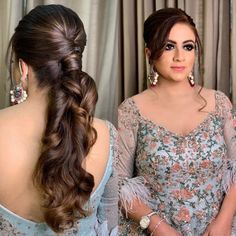 that Open Hairstyles, Easy Hairstyles For Long Hair, Hairstyles For Round Faces, Bride Hairstyles, Amazing Hairstyles, Hairstyle Ideas, Bridal Hairdo, Hairdo Wedding, Short Wedding Hair