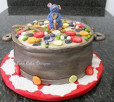 Bolo Ratatouille (ratatouille cake)