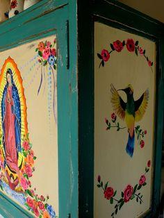 LAS VIDALAS: Muebles restaurados y pintados