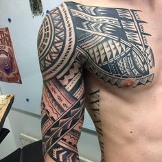 awesome 55 Inspiring Samoan Tattoo Ideas - Showing Off the Style Check more at http://stylemann.com/best-samoan-tattoo-ideas/