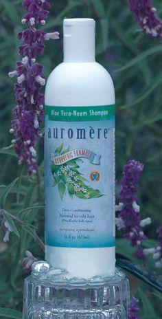 16 oz Ayurvedic Aloe Vera-Neem Shampoo - Herbal Shampoos by Auromere Ayurvedic Imports