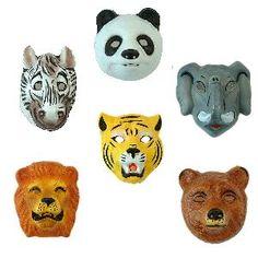jungle dieren masker