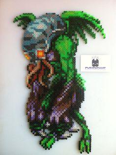 castlevania throne hama beads - Google Search