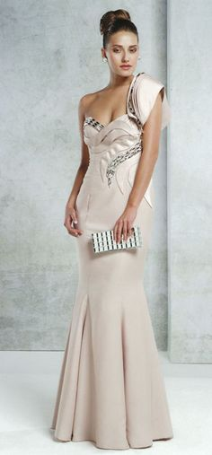 Light pink evening dress available at M Boutique