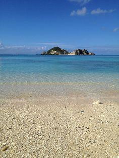 Kerama,Okinawa,Japan Beautiful Islands, Beautiful Beaches, Japan Beach, Geisha Japan, Blue Beach, Okinawa Japan, My Happy Place, Homeland, Seaside