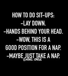 A nap?! Ok!!