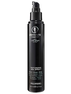 For wavy, air-dried hair. Spray when 80% dry. Twirl sections to help, hit with hairspray. When dry, shake out.