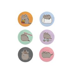 Pusheen Buttons Wallpapers To