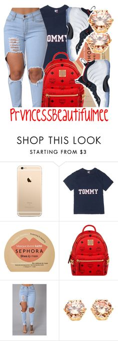 """✔️"" by prvncessbeautifulmee ❤ liked on Polyvore featuring Sephora Collection, MCM and NIKE"