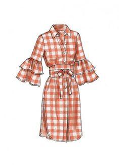 V9299 Haut et ceinture pour Jeune Femme (grandeur: 14-16-18-20-22) | Fabricville