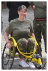 Wounded Hero Jennifer Warren.    Read her story at: http://www.helpforheroes.org.uk/wounded-hero-h4h-testimonials.html