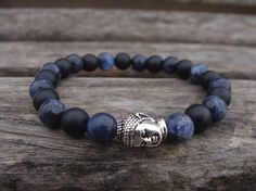 Men's Bracelet - Gemstone Beads