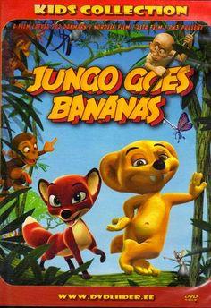 Jungledyret Hugo: Fræk, flabet og fri/Jungo goes bananas, Denmark, 2008