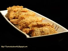 Receta Plato : Crujientes de pollo oriental con sésamo por XONIA