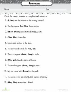 1000 images about pronouns on pinterest personal pronoun anchor charts and pronoun worksheets. Black Bedroom Furniture Sets. Home Design Ideas