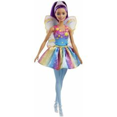 Papusa Mattel Barbie Dreamtopia Zana in rochie curcubeu Mattel Barbie, Mattel Shop, Chignon Rose, Jasmin Party, Fairy Shoes, Barbie Website, Mermaid Dolls, Mermaid Fairy, Barbie Dream House