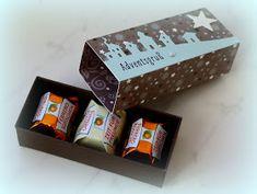 Grüß Euch! Nach der tollen Anleitung von Jana sind ein paar schöne Verpackungen für drei Ferrero Küsschen entstanden. Ruck Zuck sind di...
