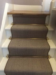 Merveilleux Client: Private Residence In West London Brief: To Supply U0026 Install Stairs  As A Runner And Stairrods To The Steps