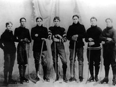 Hockey team 1800s
