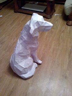 Picture of pepakura labrador retriever
