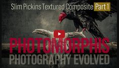 Free Tutorial includes all source files. Learn how to create this dramatic textured photo-composite in Photoshop. You can follow along with Doug Landreth using the free source files including all the photos, textures, and ACR preset used in the Slim Pickins Tutorial Video. Part 1.