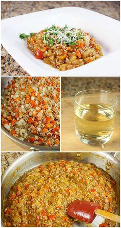 Wheat Berry Risotto