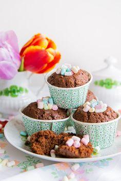 pfefferminzgruen: Muffins - die glücklich machen