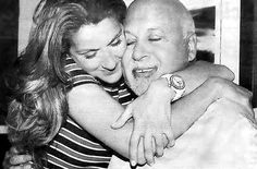 René Angélil & Céline Dion- My favorite celebrity couple ever! They are so adorable and truly in love.