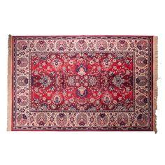 Dutchbone Bid Antique Style Persian Rug in Old Red - Medium Red Persian Rug, Red Vans, Oriental Pattern, Red Media, Beige Carpet, Modern Materials, Wow Products, Soft Furnishings, Bohemian Rug