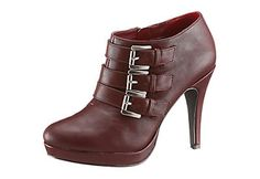 Laura Scott High Heel Ankle Boots mit trendigen Zierschnallen im Universal Online Shop