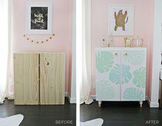 Ikea IVAR Cabinet Hack (Turned Into A Bar Cabinet!) – A Beautiful Mess