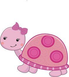 Pretty Pink Girly Jungle Animals - Pretty Pink Girly Jungle Animals_05.png - Minus