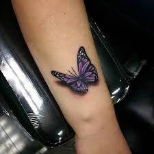 Bildresultat för tattoo butterfly 3d