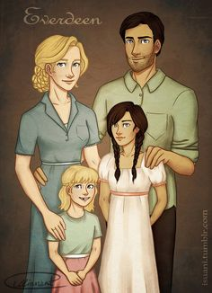 Everdeen Family Photo by Isuani on DeviantArt