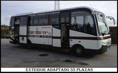 Microbus 33 plazas Adaptado