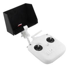 Phone Hood Sun Cover Remote Control Visor Plate For DJI Phantom 2 vision VEG53 T51