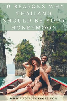 Have you ever wondered why Thailand has always been a favorite destination for honeymooners? Check out this article and find out. Here are 10 reasons why Thailand is a perfect place to spend your honeymoon: Honeymoon Destinations All Inclusive, Thailand Destinations, Thailand Vacation, Thailand Honeymoon, Honeymoon Planning, Thailand Travel, Asia Travel, Affordable Honeymoon, Honeymoon Ideas