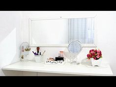 Vanity, Mirror, Room, Furniture, Home Decor, Makeup, Youtube, Ideas, Small Room Design