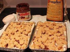 What's Cookin' Italian Style Cuisine: Ricotta Nutella Chocolate Frangelico Cassata Cake