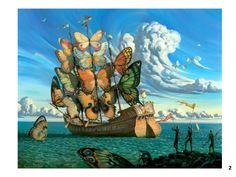 Enjoyable Inspiration Ideas Salvador Dali Painting Butterfly Ship ...