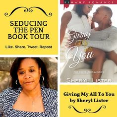 Book Review: Giving My All To You by Sheryl Lister -  Thank you Ms. Lister for writing an excellent well thought out story. In the new installment to the Gray's Of California series we have Boss Man Brandon Gray falling hard for Ms. Faith Alexander.    Throughout the story we get to witness Brandon's fall from grace. Never in a million years did I imagine there would be a woman willing to go up against Brandon Gray.  We all know Brandon is a jerk who wants things his way and like always he…