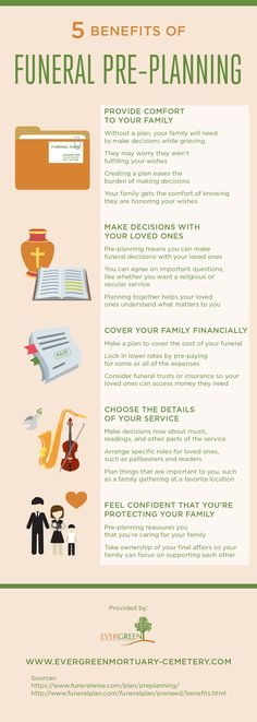 You can save some money on funeral costs by locking in lower rates early on! See how else you can benefit from funeral pre-planning by looking at this infographic.
